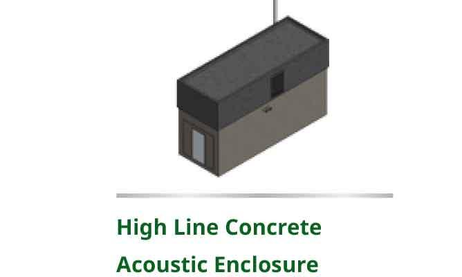 High-line-contrete