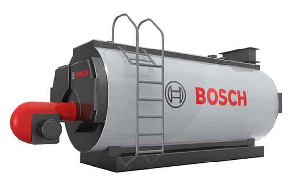 Biogas-boiler